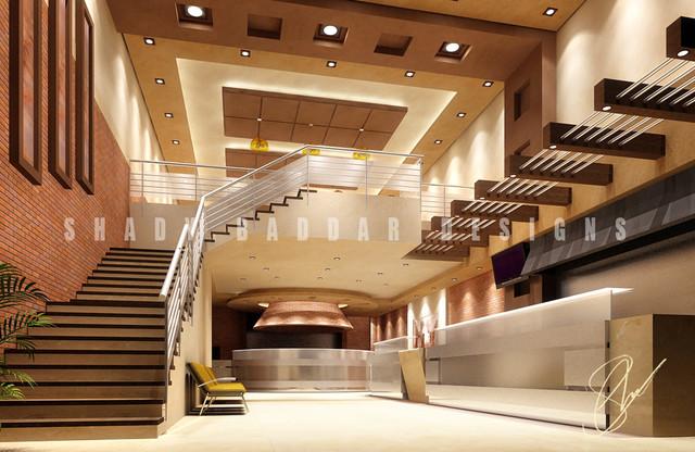 Modern spaces.. modern-rendering