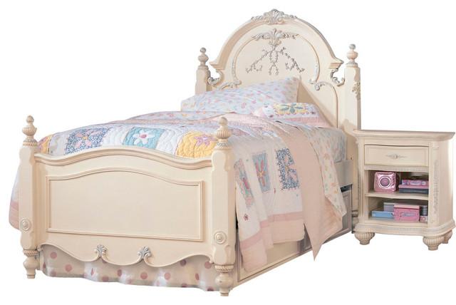 lea jessica mcclintock 4 piece kids 39 bedroom set with vertical mirror