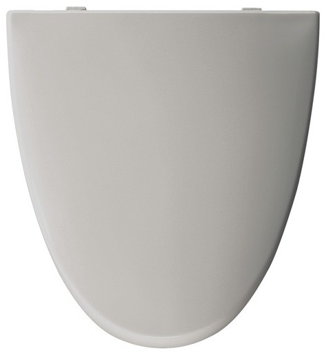 American Standard Elongated Solid Plastic Toilet Seat modern-bath-products