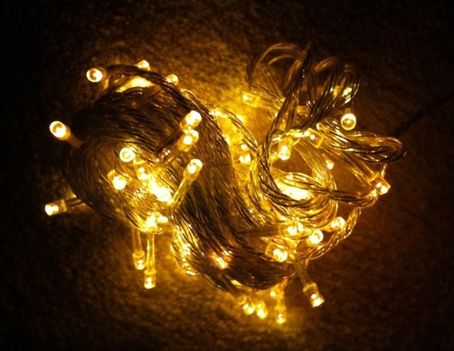 String Lights Long : LED String Lights - Yellow (Warm White) Color (10 Meters or 32.8 Feet Long) - Lighting - by ...