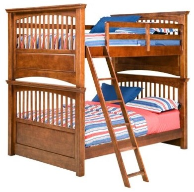 American Spirit II Full over Full Bunk Bed modern-beds
