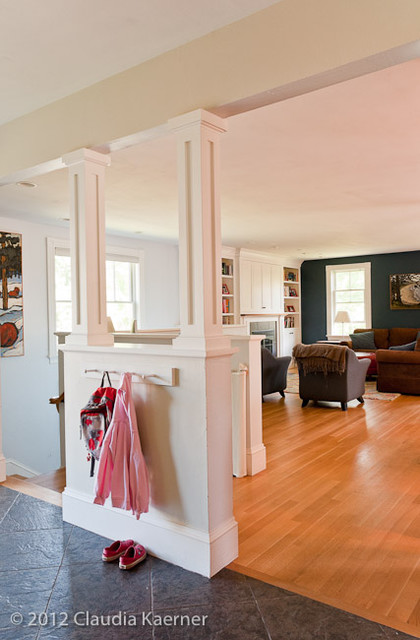 Four Square Home - addition & renovation traditional-entry