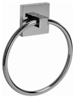 Graff - Towel Ring - G-9106-SN contemporary-towel-bars-and-hooks
