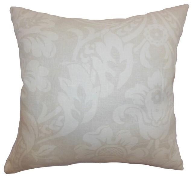 Marcail Floral Pillow Neutral 20