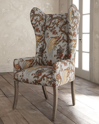 Pheasant Host Chair traditional-living-room-chairs