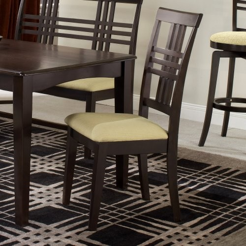 Tiburon Side Dining Chair-Set of 2-Espresso contemporary-dining-chairs