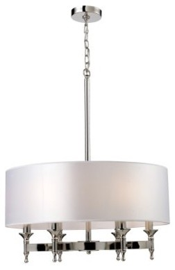 ELK Lighting Pembroke Chandelier 10162/6 - 24W in. modern-chandeliers