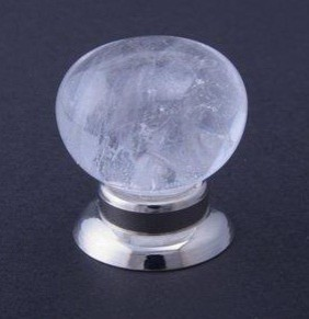 Rock Crystal Cabinet Knob modern-cabinet-and-drawer-knobs