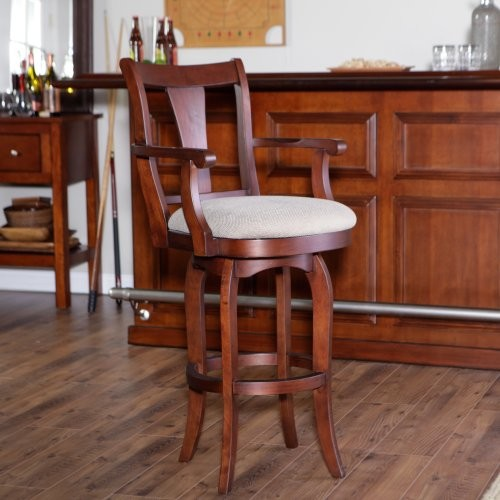 Grand Waters McCarren Swivel Barstool - 30 In. modern-bar-stools-and-counter-stools