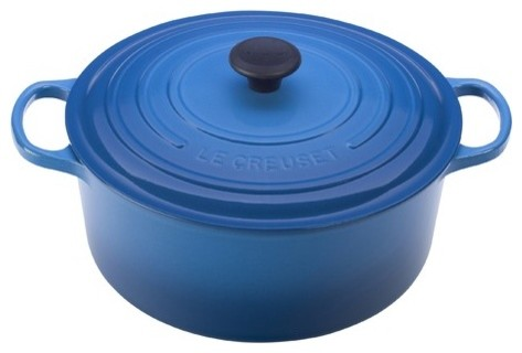 Enameled Cast Iron 9-Qt. Round Dutch Oven modern-ovens
