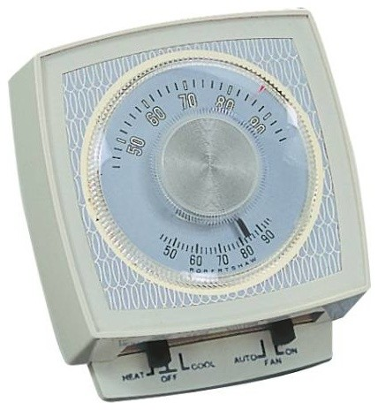 Robert Shaw Heat/Cool T-Stat contemporary-thermostats