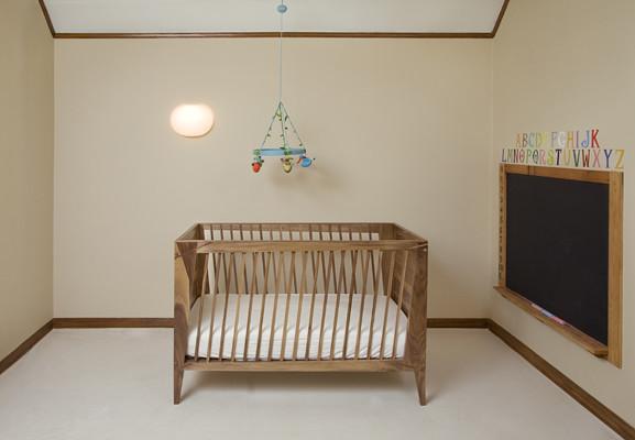 Walnut Crib contemporary-cribs