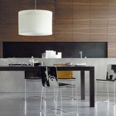 ligne roset fil chair in cowhide contemporary dining chairs by ligne roset. Black Bedroom Furniture Sets. Home Design Ideas
