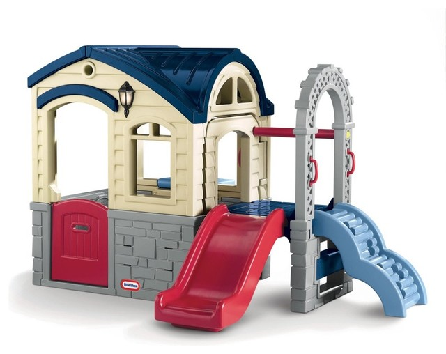 Little tikes picnic 39 n playhouse modern outdoor for Little tikes outdoor playset