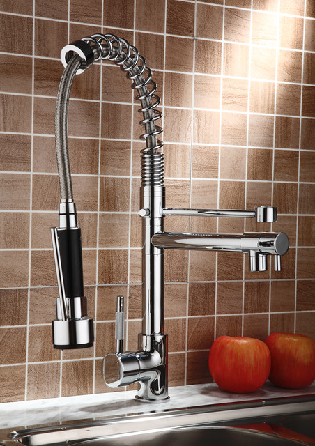 professional kitchen faucet with pull out spray modern american standard 4332350 002 pekoe semi professional