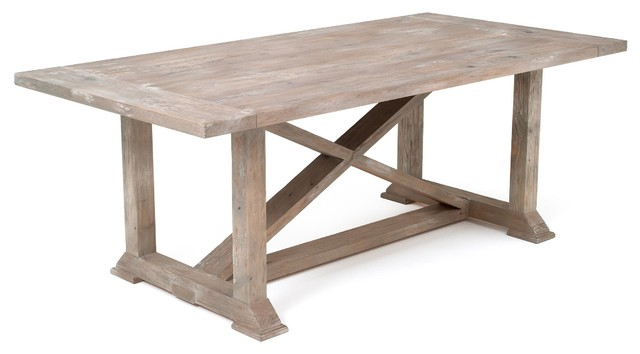 Rustic Chic Farmhouse Dining Table Farmhouse Dining Tables other metro