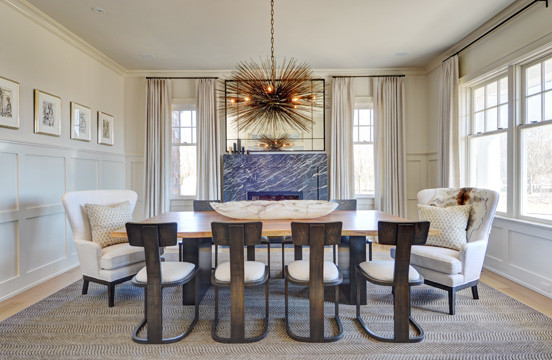 Gibson Beach, Sagoponic contemporary-dining-room