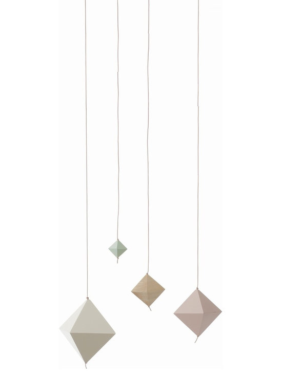 Ferm Living Cubes On String - Ferm Living Cubes On String