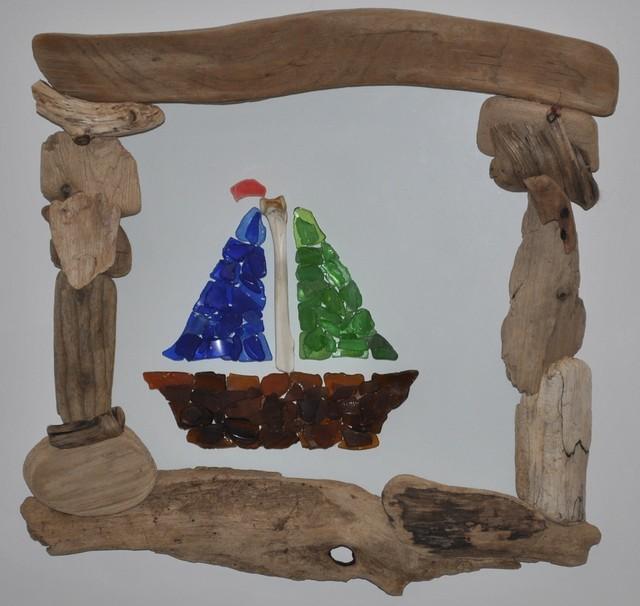 Cr ations de bois flott driftwood art eclectic picture frames montre - Bois flotte montreal ...