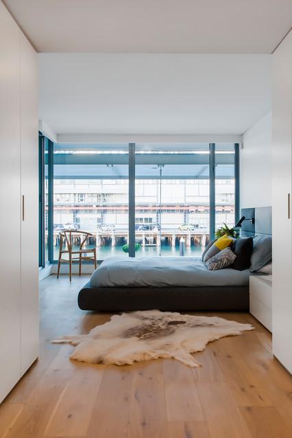 Sydney City Apartment modern-bathroom