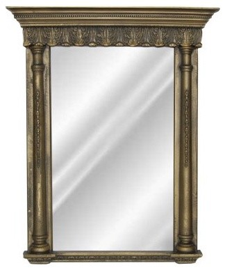 Hickory Manor House Acanthus Mirror modern-mirrors