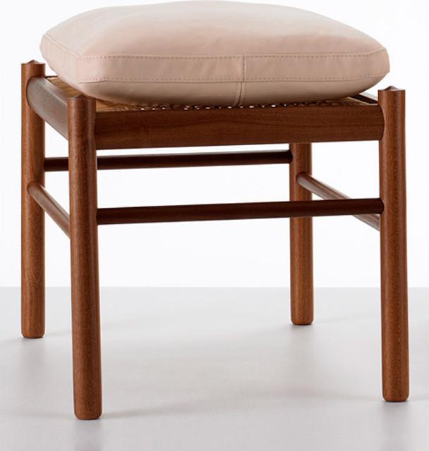Carl Hansen & Son OW149-F Colonial Foot Stool modern-bar-stools-and-counter-stools