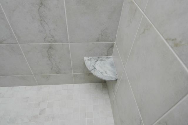 Custom Granite Shower Seat Shower Shelf Contemporary