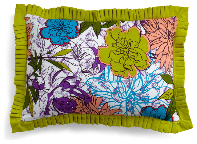 Blooms for your Room Pillow eclectic pillows