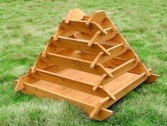 Pyramid Garden Planters, Raised Vegetable Planters Outdoor Planters