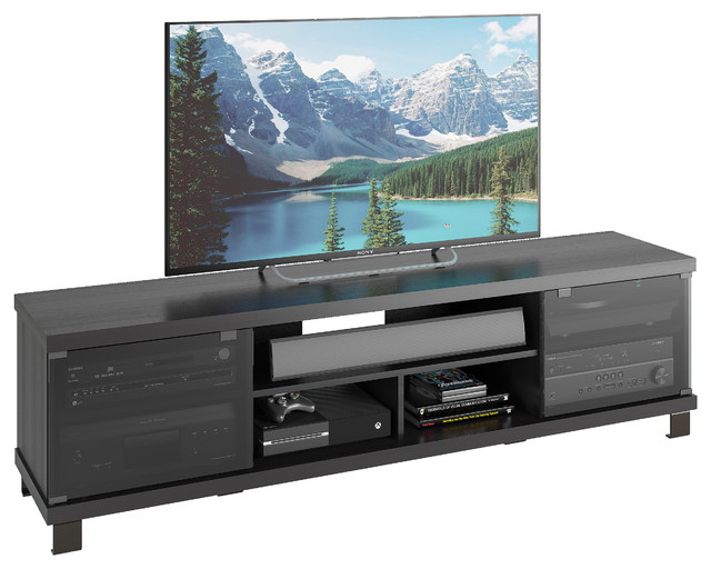 "Holland 71"" Extra Wide TV and Component Bench, Ravenwood ..."