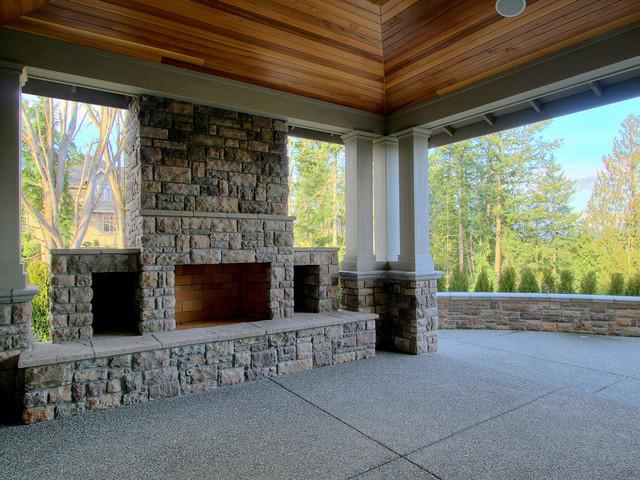 Aldarra lot 28 Outdoor Living Space traditional-patio