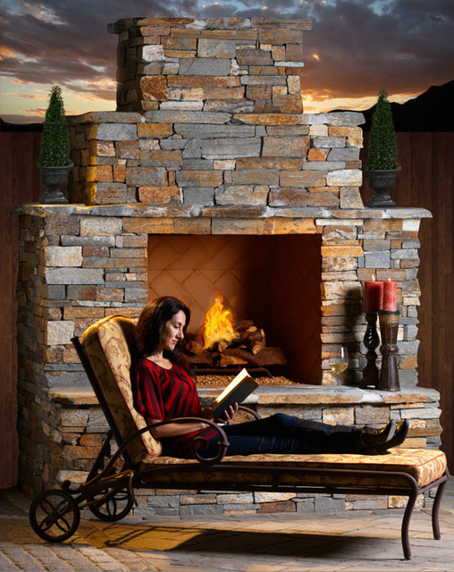 Outdoor Elements fireplaces