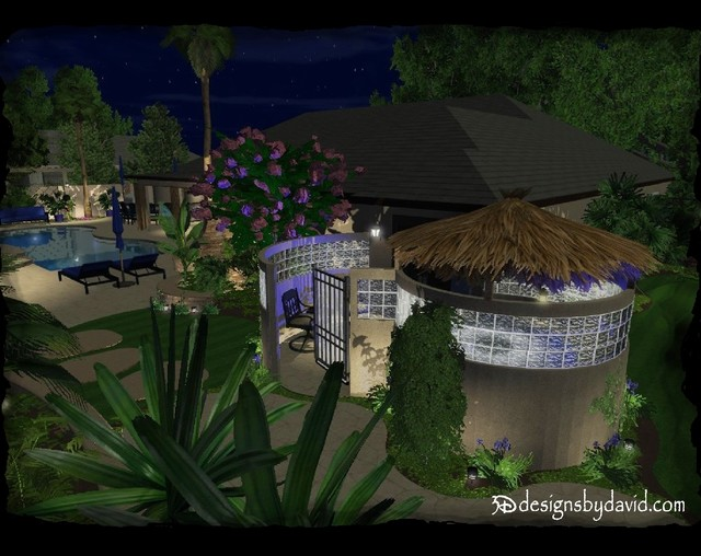 3D EXTERIOR DESIGN tropical