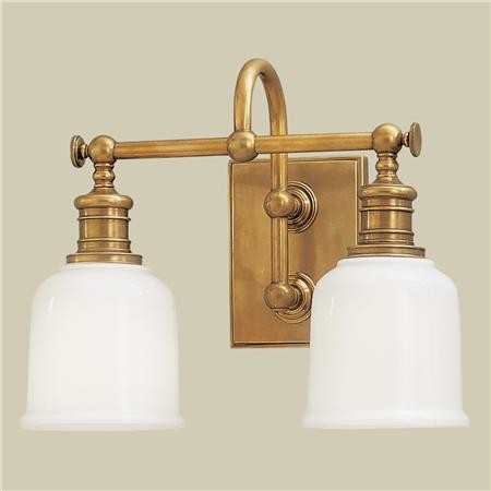 Vanity Lights Bathroom : Well Appointed Bath Light, 2-Light - Traditional - Bathroom Vanity Lighting - by Shades of Light