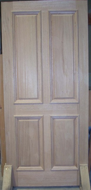 Mahogany Line traditional front doors