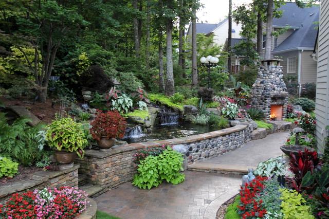 Mark's Backyard traditional-landscape