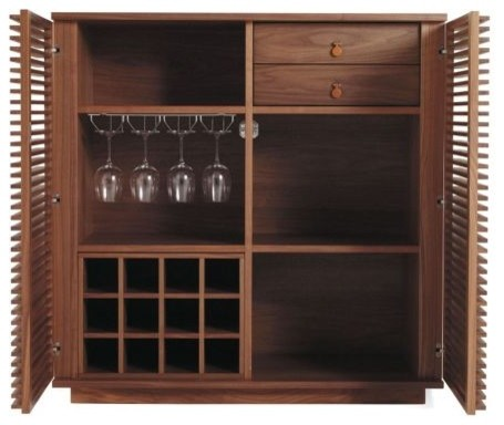 Line Bar - Modern - Wine And Bar Cabinets - by Design Within Reach