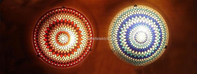 Turkish Style - Mosaic Lighting eclectic
