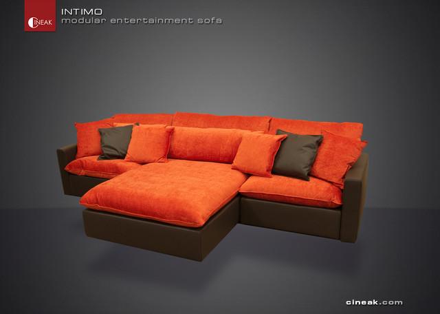 CINEAK Intimo Modular Entertainment Sofa modern-sectional-sofas