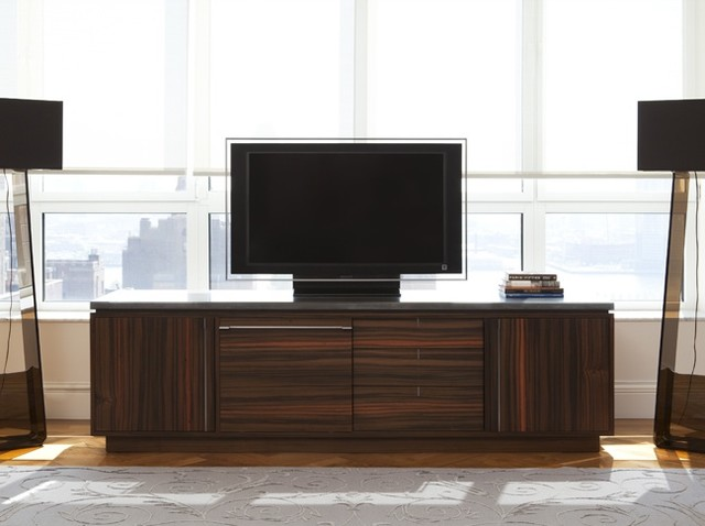 Wud Media Cabinet - media storage - new york - by Wud Furniture Design