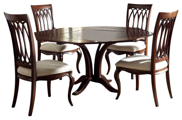 american drew cherry grove ng 6 piece square dining room