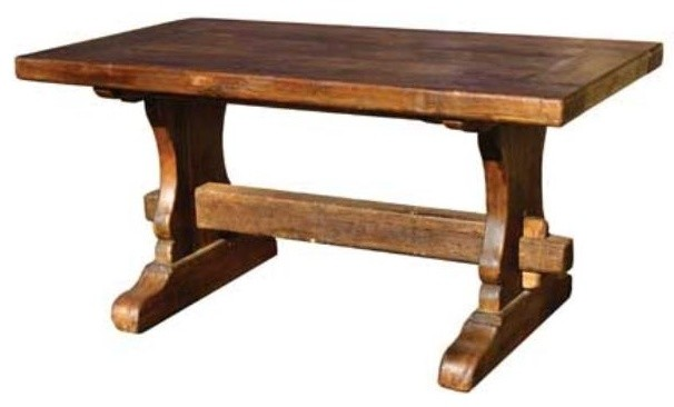 Reclaimed Dining Table \ Rectangle traditional-dining-tables