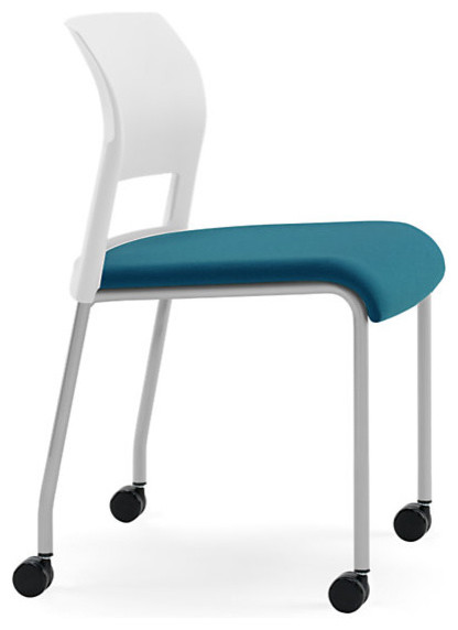 Steelcase Move Multi Use Chair Platinum Frame & Casters