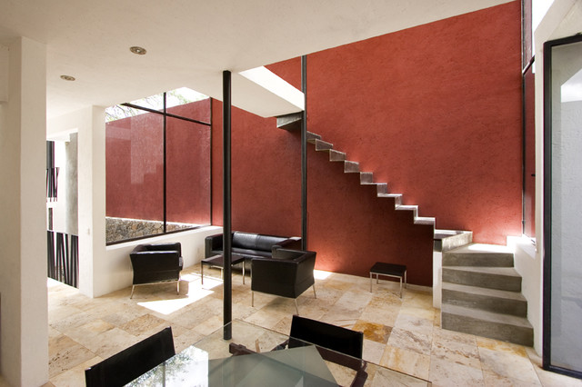 CASA - The Center for Architecture, Sustainability + Art modern-living-room