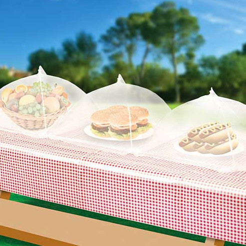 Set Of Three Food Tents contemporary
