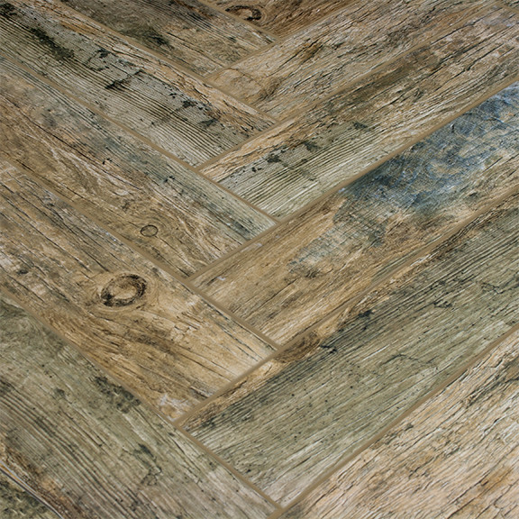 Redwood Natural Wood Plank Porcelain Modern Wall And
