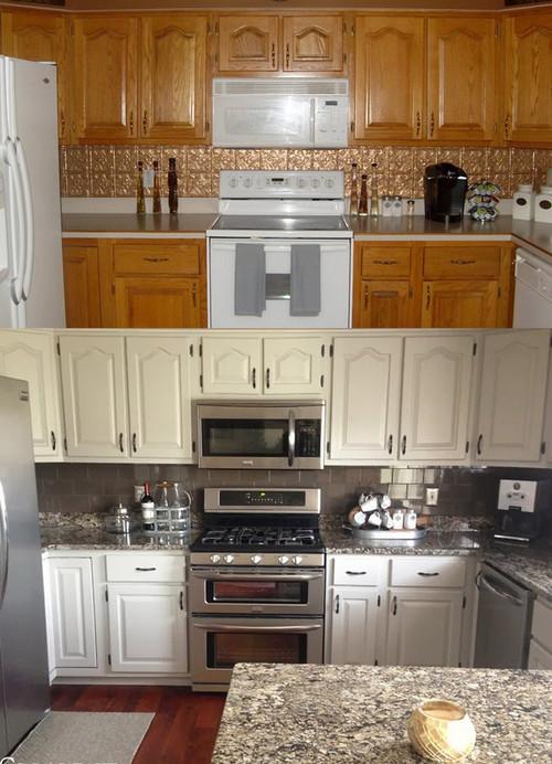 Help Small Kitchen Remodel Granite Oak