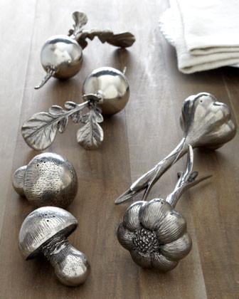 Vagabond House Radish Salt & Pepper Shakers traditional-serving-utensils