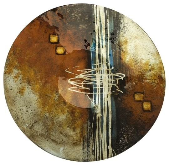 Meers Glass Plate eclectic-home-decor