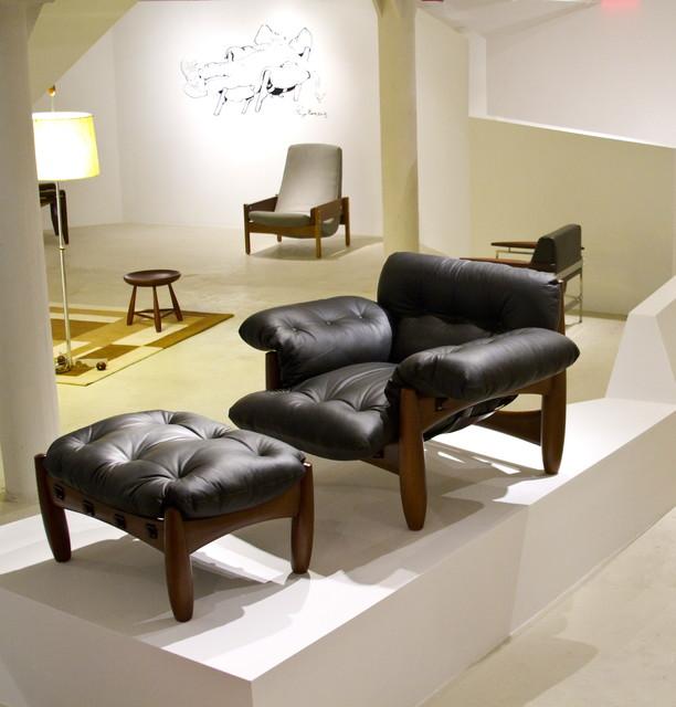 Mole Armchair by Sergio Rodrigues modern